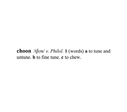 choon / v. Philol