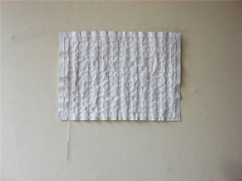 Folded and Sewn A4 Paper