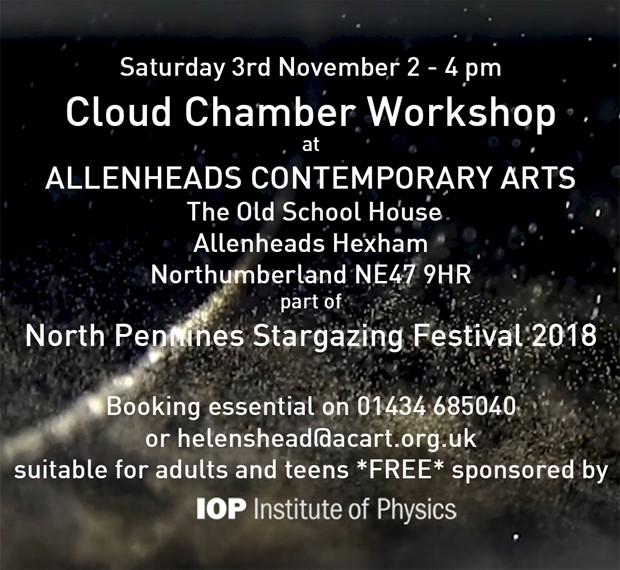 Cloud Chamber Workshop, by Susan Eyre