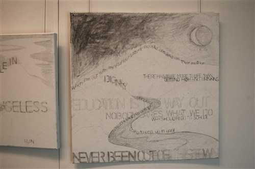 Untitled Drawing Series - 2012