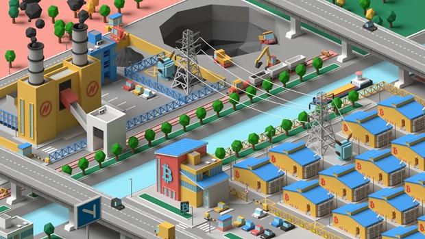 Bitcoin Mining Sim