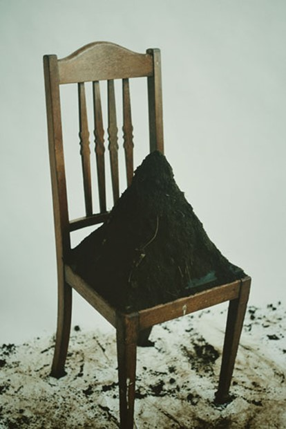 Chair from the Kitchen Dirt from the Garden