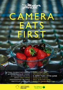 Camera Eats First, by Christopher Tipping