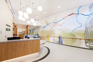 Tameside New Macmillan Unit, by Christopher  Tipping