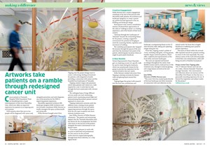 Tameside Macmillan Unit, by Christopher Tipping