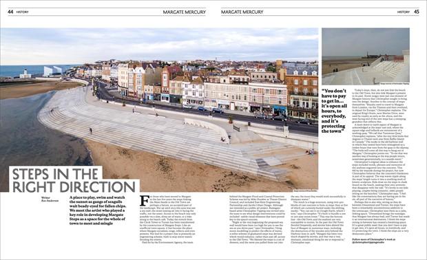 Margate Steps aka The Margate Coast and Flood Protection Scheme 2013