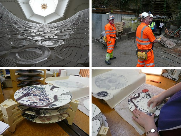 '1479 plates', Combe Down Stone Mines Project - Credit: Christopher Tipping