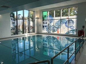 'Flow' - RNHRD & Brownsword Therapies Centre, RUH, Bath, by Christopher Tipping
