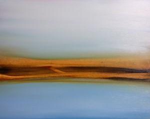 Shorelines body of work in progress, by Julie Lawrence