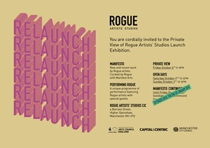 Rogue Artists' Studios Relaunch Extended Until the End of January 2019, by Mike Chavez-Dawson