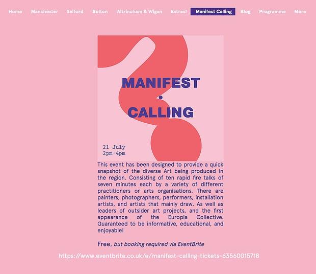 Manifest Calling 2019