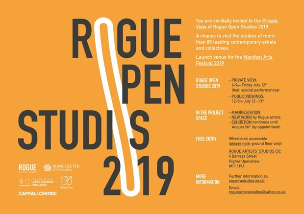 Rogue Open Studios 2019, by Mike Chavez-Dawson