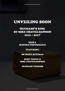 Buddha of the Bathroom - Duchamp's Ring Unveiling, by Mike Chavez-Dawson