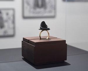 'Linga-Yoni, Black Fountain, 2015 to 2017', by Mike Chavez-Dawson