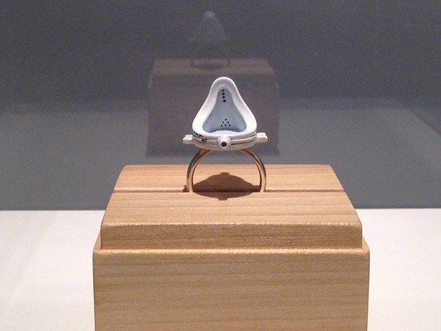 Duchamp's Ring by Mike Chavez-Dawson, 2013 to 2017 - Credit: Chloé Dall'Olio