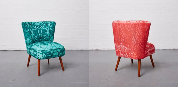 'Kleckztale Chairs, 2015 to 2017...' - Credit: Reloved Upholstery
