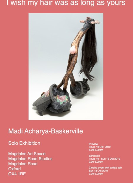 I wish my hair was as long as yours, Catalogue, by Madi Acharya-Baskerville