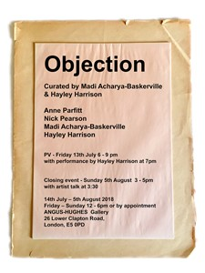 'Objection', by Madi Acharya-Baskerville