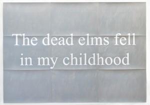 Dead elms, by Matthew Herring