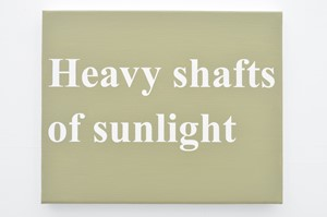 Heavy shafts of sunlight (Spurn series), by Matthew Herring