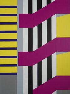 Magenta Stairway, by Emma Bennett