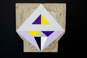 Proximity (concrete paintings), by Emma Bennett