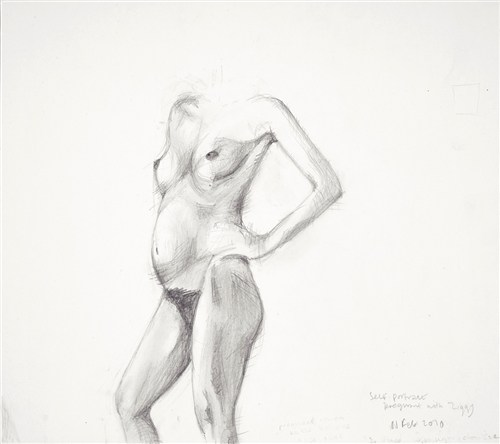 Pregnant Self-Portrait (2002)