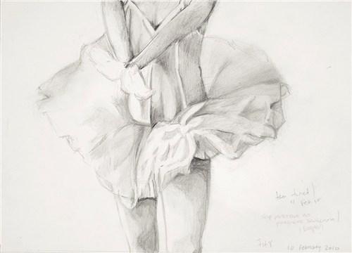 Pregnant Self-Portrait as Ballerina (2002)