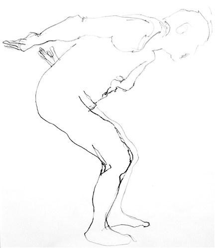 Life Drawing 2009 Series - Wilf