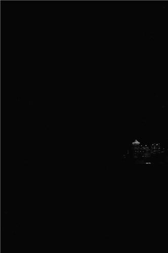 In the dark (...)