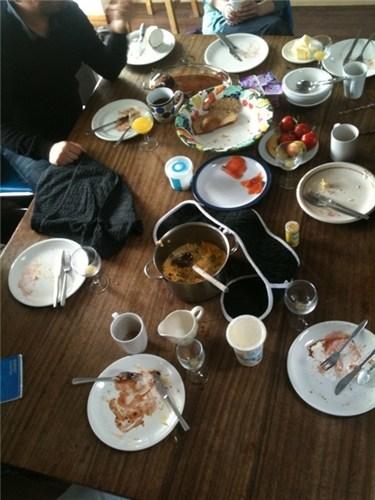 A Rural Lunch after Spoerri