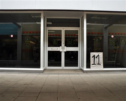 Empty Shop Crawl (Bridgend Arts Residency)