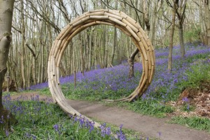 Spiral Coppice Arch, by Tim Norris