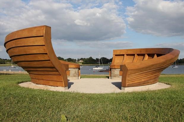 Clinker Boat Bench