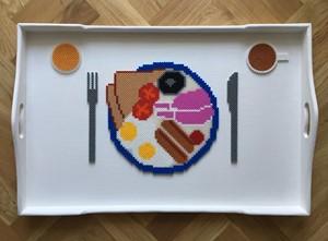 Breakfast In Bead, by Lorsen Camps