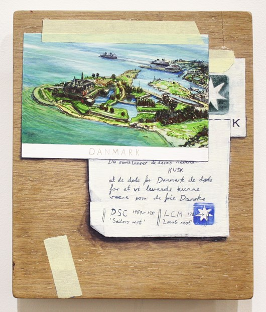 Postcard and Letters
