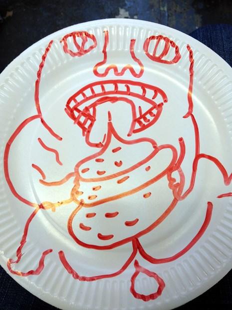 Tlazolteotler Plates - Credit: Lesley Guy