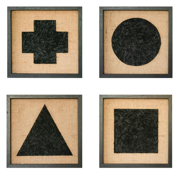 'Circle, Triangle, Square, Cross'