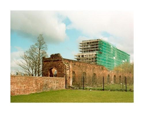 Apartment Block and Ruins, Ancoats, Manchester