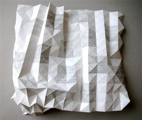 Yvette Hawkins, Tessellation Drawing, 2011