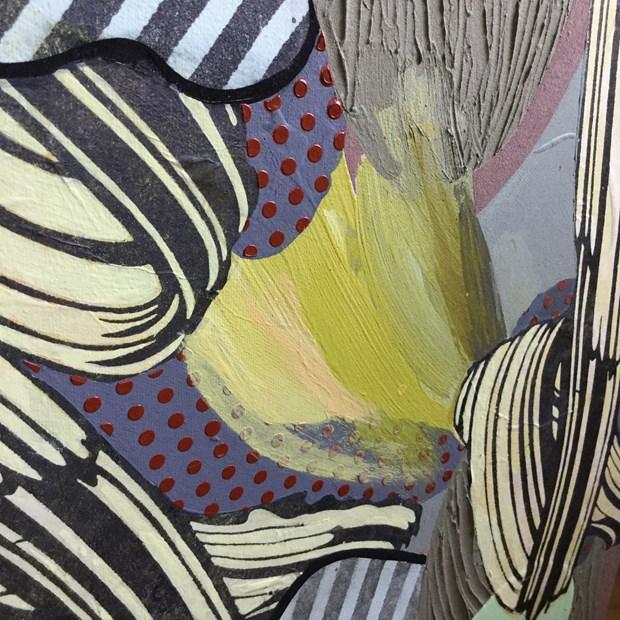 ddifferent strokes detail of brushwork