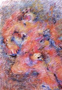 Woman in pain, c '71, by Pen Dalton