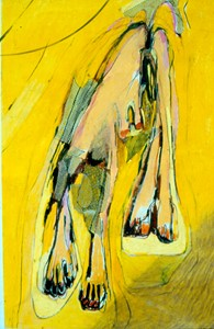Hanging woman, c '71, by Pen Dalton