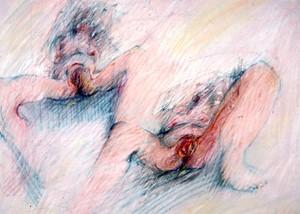 Childbirth, c 1971, by Pen Dalton