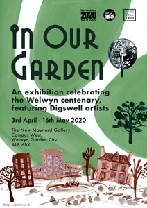 'In Our Garden' featuring Digswell Arts Artists, by Caryl Beach