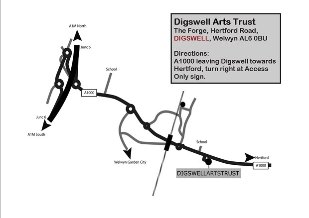 Open Studio Event May 21-22 Digswell Arts