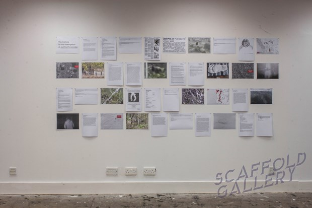 The Institute for the Investigation of Justified Knowledge - Credit: Scaffold Gallery