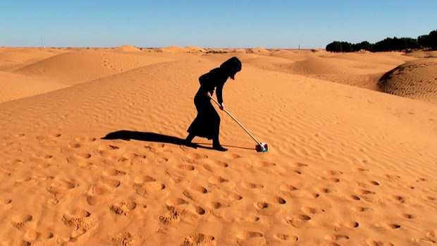 Wiping the Sahara Desert