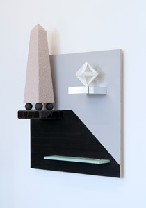 Euclidean Display Unit, by Iain Hales