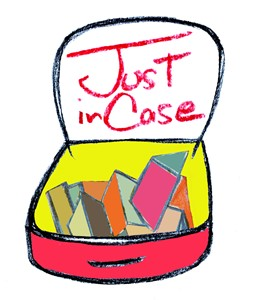 Just In Case Zine Library, by Sally Lemsford